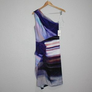 Rachel Rachel Roy Rush Hour One Shoulder Dress NWT